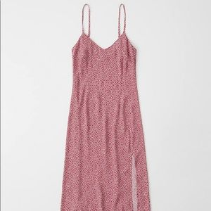 Abercrombie Pink Floral Slip Dress - XS